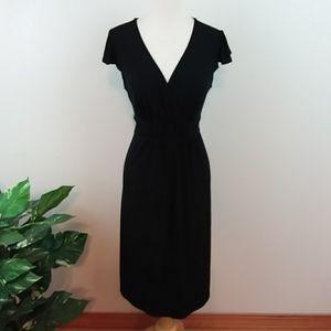 Merona Black Empire Waist Dress Medium